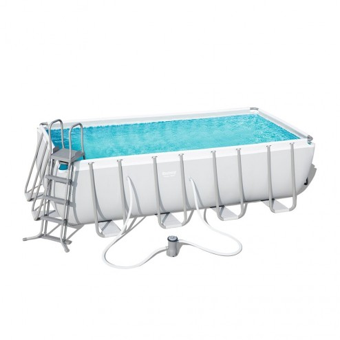 Power Steel Rectangulaire Piscine 488 x 244 x 122cm