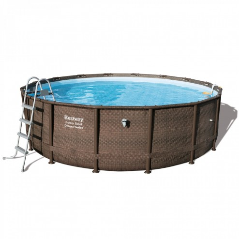 Power Steel Deluxe Piscine 488 x 122cm