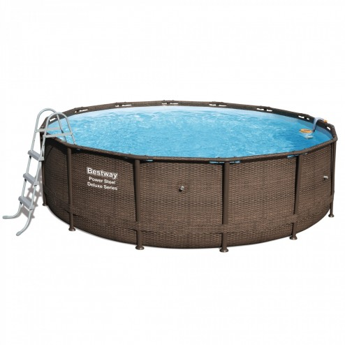 Power Steel Deluxe Piscine 427 x 107cm