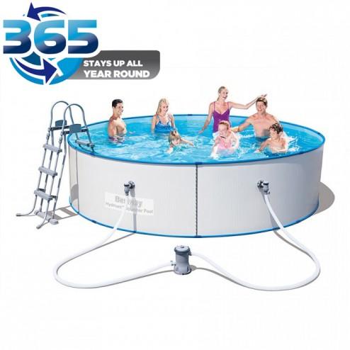 Steel Frame Hydrium Splasher Pool 360x90cm