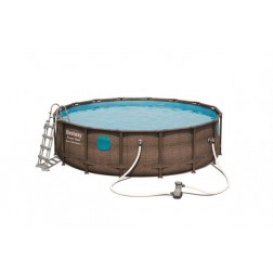 Piscine Set Power Steel Vista 4.88m x 1.22m