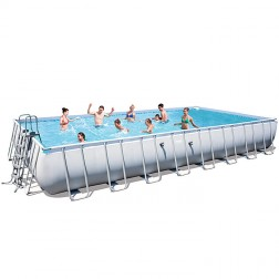Piscine Tubulaire Rectangulaire 956 x 488 x 132 cm