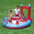 Jeu de piscine chateau interactif 221x193x150